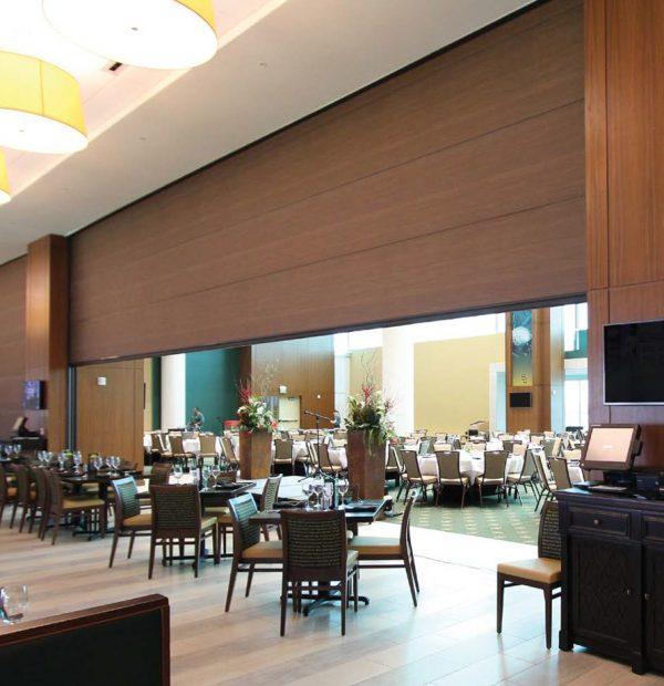 Hufcor Summit® Vertical Lift Walls