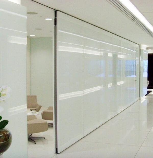 Semi-Electric Operable Walls