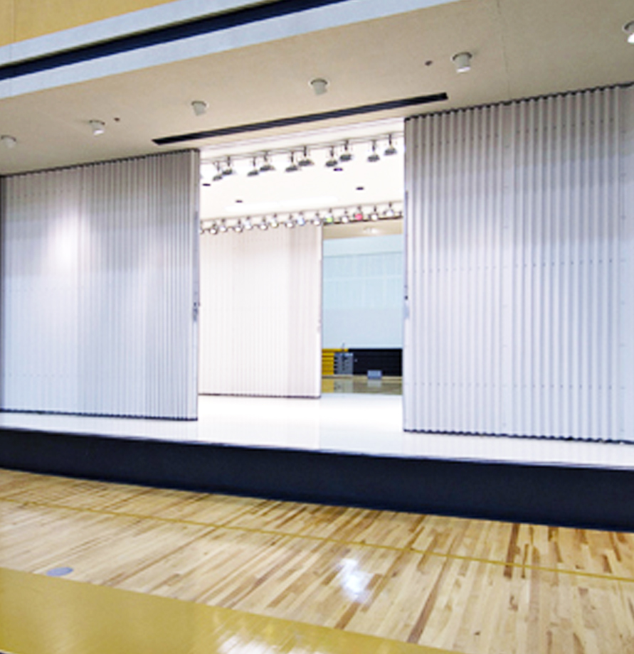 Vinyl Concertina Partition Systems